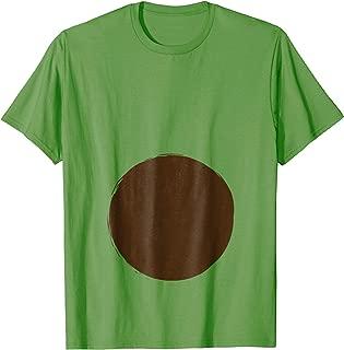 Funny Pregnancy Tshirt Halloween Costume Avocado Pit