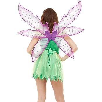Bristol Novedad BA353 Alas de Mariposa Verde Mujer Talla /Única