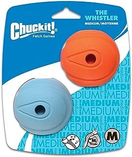 "Chuckit! The Whistler Chuck-It Ball Medium Ball - 2.25"" Diameter (2 Pack) - Pack of 6"