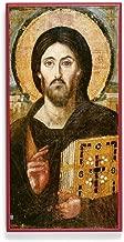 Legacy Icons Christ Pantocrator (Sinai) Icon Mounted on Wood (5