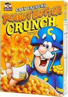 Quaker Cap'n Crunch's Peanut Butter Crunch Cereals, 355g