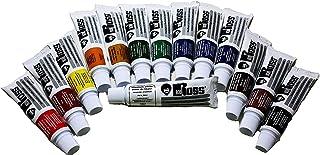 مجموعه کامل 14 رنگ روغن چشم انداز باب راس (لوله های 37 میلی لیتری)