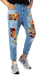BERNA Luxury Fashion Mens 19419530LIGHTBLUE Light Blue Jeans   Fall Winter 19