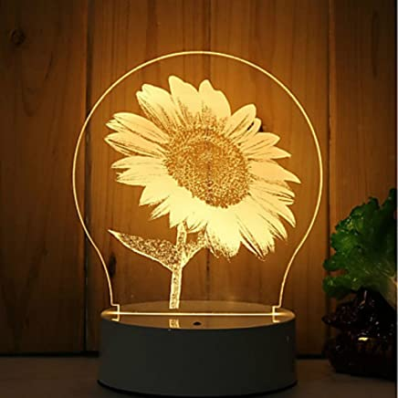 De Interior Iluminación Flores esLampara Cristal Amazon vmwOy0N8Pn