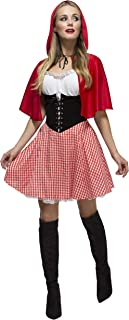 Womens Sexy Little Red Riding Hood Halloween Costume