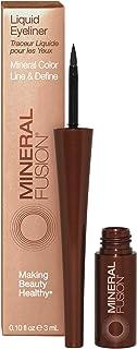 Mineral Fusion Liquid Eyeliner, Ebony, 0.1 Ounce (Packaging May Vary)