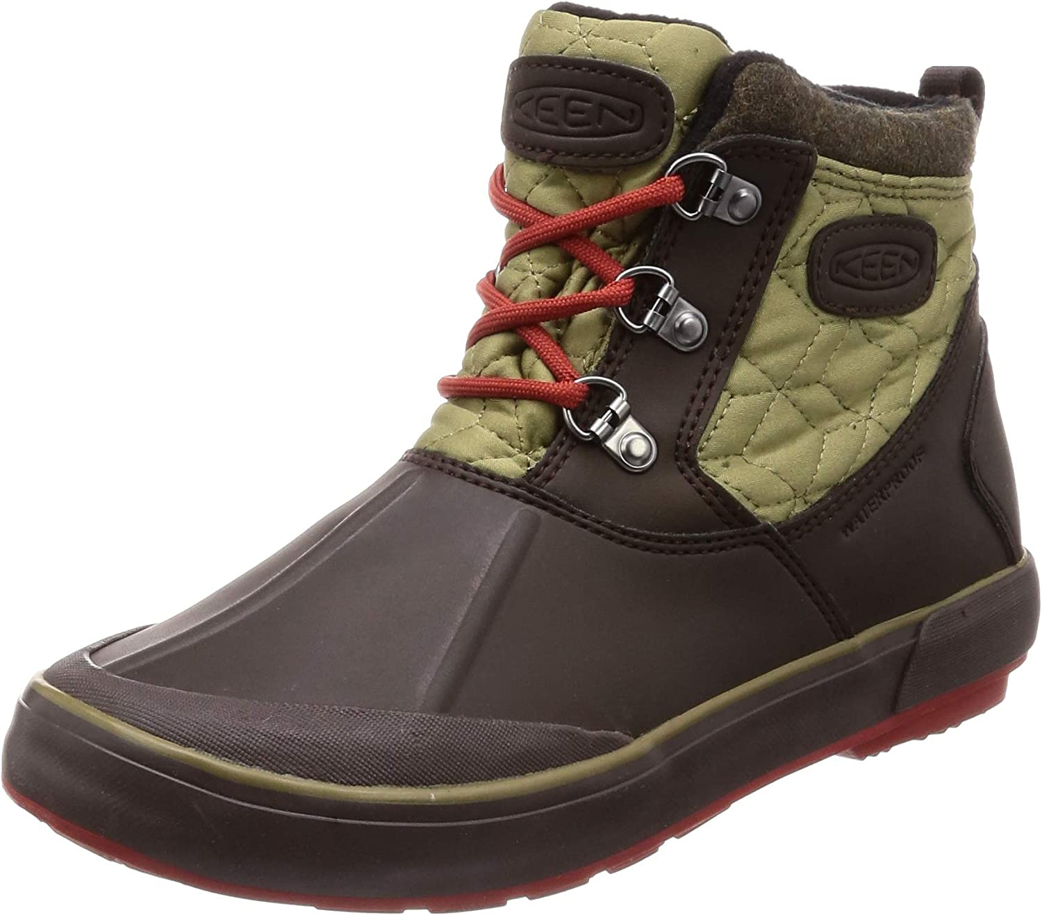 KEEN Womens BELLETERRE Ankle Quilted WP Boots