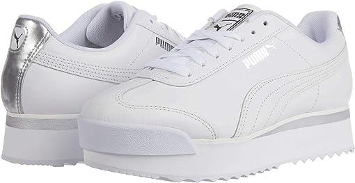 PUMA White/Whisper White/Silver