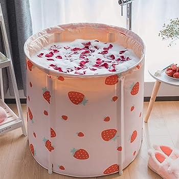 KELIXU Thickened Thermal Foam Portable Bathtub