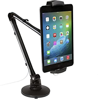 CTA Digital: Ultra-Light Arm Mount with Clamp and Suction Base for Tablets and Smartphones