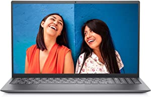 Dell Inspiron 15 5510 Laptop, 15.6 Inch FHD (Full HD) - Intel Core i7-11370H, 8GB DDR4 RAM, 512GB SSD HD, NVIDIA GeForce MX450 with 2GB GDDR5 Graphics, Windows 10 Home - Platinum Silver (Latest Model)