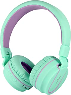 RockPapa Stereo Foldable Wireless Bluetooth Headphones Adjustable Lightweight Headsets with Microphone for Smartphones And...