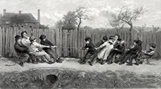 Tug of War 1879 Poster Print by Science Source (24 x 18)