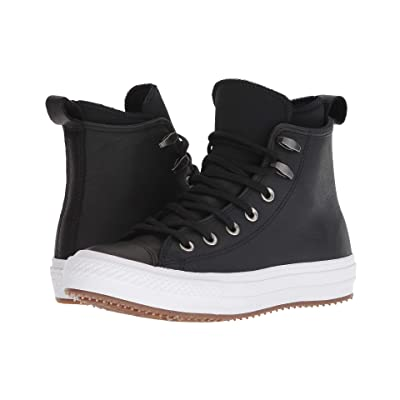 Converse Chuck Taylor All Star Waterproof Boot (Black/Black/White) Women