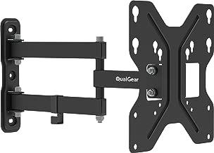 QualGear QG-TM-006-BLK 23-Inch to 42-Inch Universal Low Profile Tilting Wall Mount LED TVs, Black