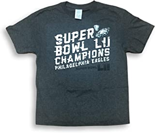 NFL Team Apparel Philadelphia Eagles Super Bowl LII Champions Youth Boy's T-Shirt