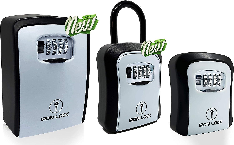 Iron supreme Lock - Key Box Mounted Portable Wall and Combination wholesale