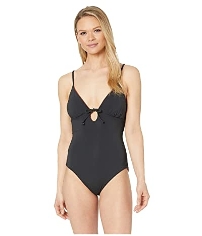 Carve Designs Antigua Reversible One-Piece (Black/Cinnamon Shimmer) Women