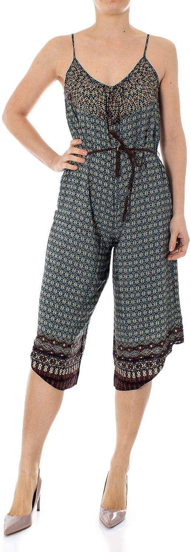 Desigual Women's 19SWPW17MULTI Multicolor Viscose Jumpsuit