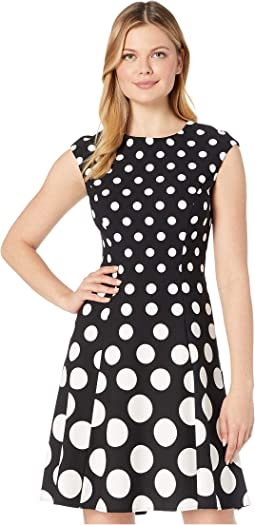 Ellen Tracy Cap Sleeve Tuxedo Dress 6pm