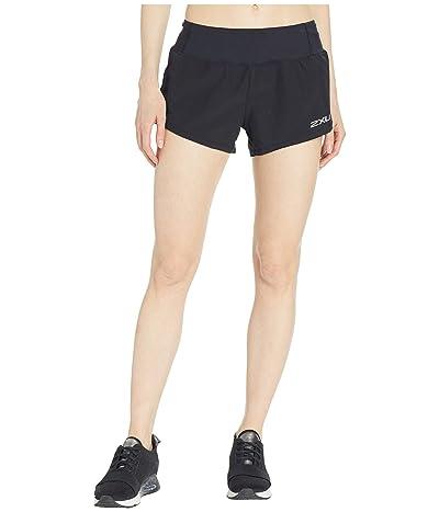 2XU XVENT 4 Free Shorts (Black/Black) Women