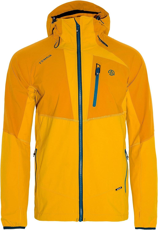 (XLarge, Dore, moutarde (sun gold   mustard))  ternua jaksam Men's Jacket, Mens, Jaksam