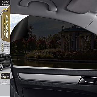Gila Heat Shield Plus 20% VLT Automotive Window Tint DIY Extra Heat Control Glare Control 2ft x 6.5ft (24in x 78in), Black