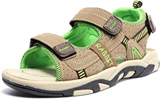 1c4e5509fd65 UBELLA Boy s Girl s Summer Beach Athletic Outdoor Sport Adventure Seeker  Strap Sandal (Toddler Little