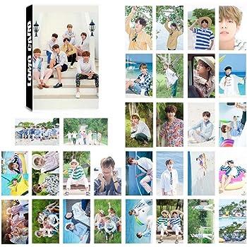 Hangaga BTS Bulletproof Youth League collettivo modelli Lomo box di impostare un set di 30/fogli