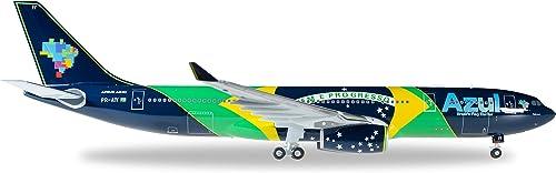 Herpa - 557238 - A330-200 bleu Brazilian Flag