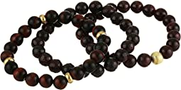 Journey Garnet Beaded Bracelet Set
