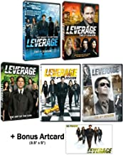 Leverage Seasons 1-5 Complete TV Series DVD Collection + Bonus Art Card