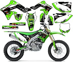 Team Racing Graphics kit compatible with Kawasaki 2008-2018 KLX 140, SCATTER