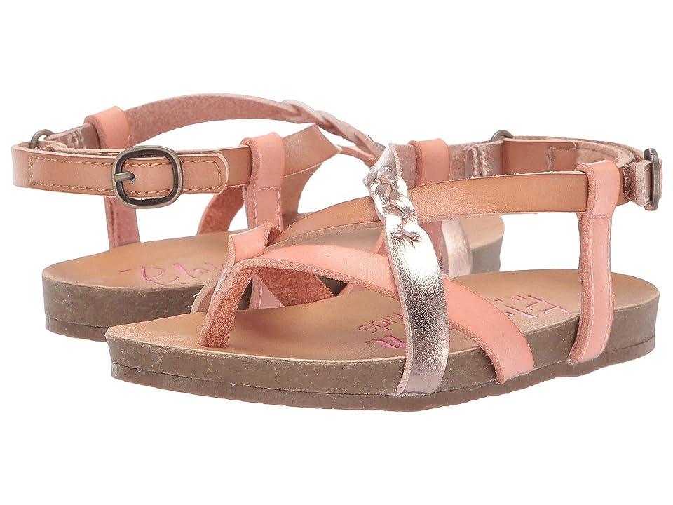 Blowfish Kids Granola B T (Toddler/Little Kid) (Terraotta/Nude/Blush Dyecut) Girls Shoes
