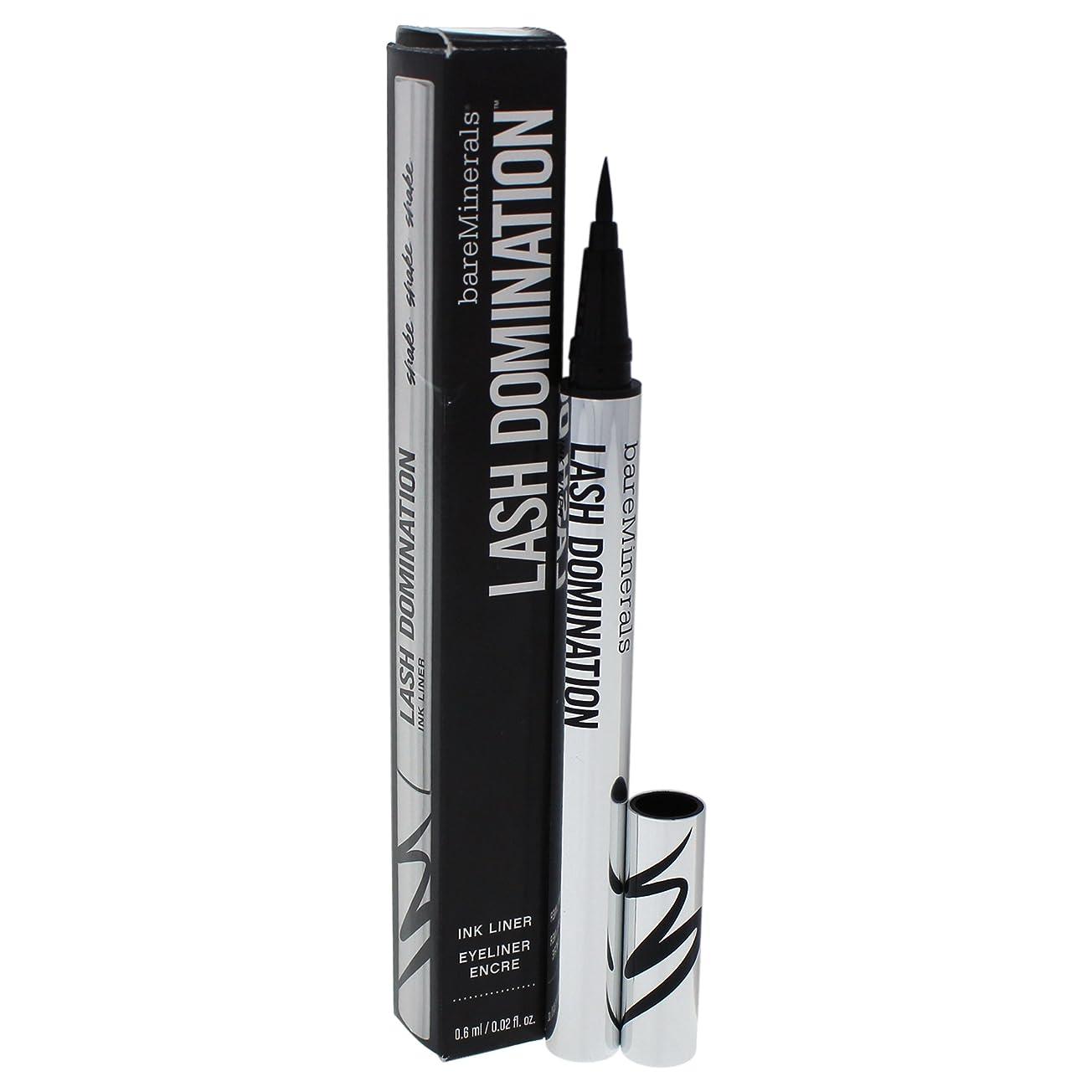 庭園うがい薬資産ベアミネラル BareMinerals Lash Domination Ink Liner - Intense Black 0.6ml/0.02oz並行輸入品