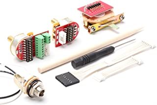 ToneShaper NextGen Wiring Kit, Solder-Free, NG01 w/ 3-Way Switch (Tele & Many Other Guitars, 2 Controls)