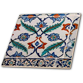 4-Inch Italian Pottery Plate for Sale In The Streets ct/_207991/_1 - Ceramic Tile 3dRose Italy Orvieto