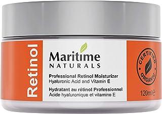 Inmensa 120 ml Crema Hidratante con Retinol + Ácido Hialurónico + Vitamina E - Retinol de grado profesional - Manteca de K...