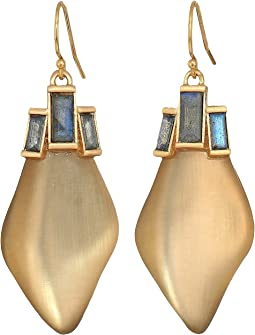 Dancing Baguette Drop Earrings