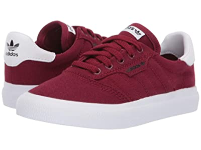 adidas Skateboarding 3MC J (Collegiate Burgundy/Footwear White/Core Black) Men