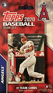 Los Angeles Angels 2020 Topps Factory Sealed Special Edition 17 Card Team Set with Mike Trout and Shohei Otani Plus 15 Others