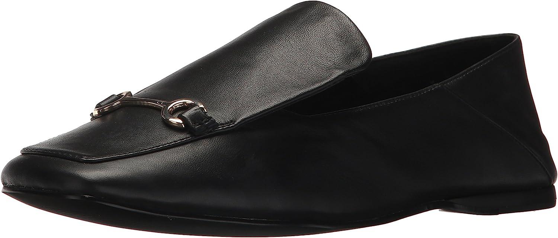 NINE WEST Women's YOBIE Leather Loafer Flat