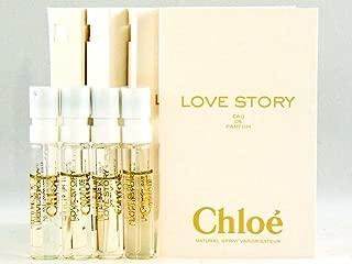 Chloe LOVE STORY Eau de Parfum Samples (4 vials)