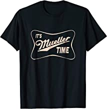 It's Mueller Time Special Prosecutor Vintage T-Shirt