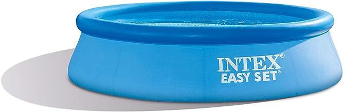 Intex Easy Set Round Inflatable Swimming Pool, 305 x 76 cm - Blue