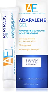 Acne Free Adapalene Gel 0.1%, Once-Daily Topical Retinoid Acne Treatment, 15 Gram, 30 Day Supply