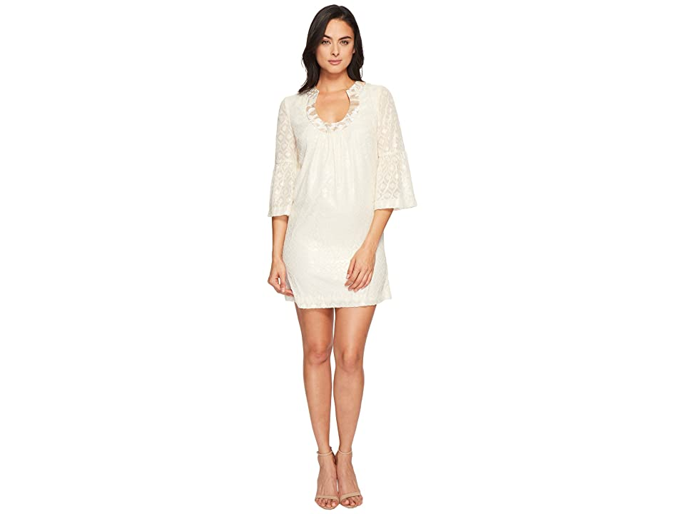 Trina Turk Bonita Dress (Whitewash) Women