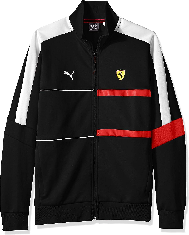 8858be331a286 PUMA PUMA PUMA Men's Scuderia Ferrari T7 Track Jacket a9e433 ...