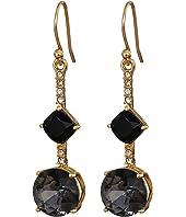 Kate Spade New York - Bright Ideas Linear Asymmetrical Drop Earrings
