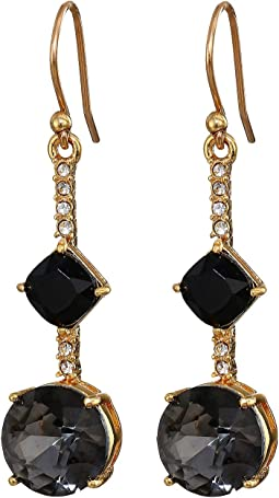 Bright Ideas Linear Asymmetrical Drop Earrings